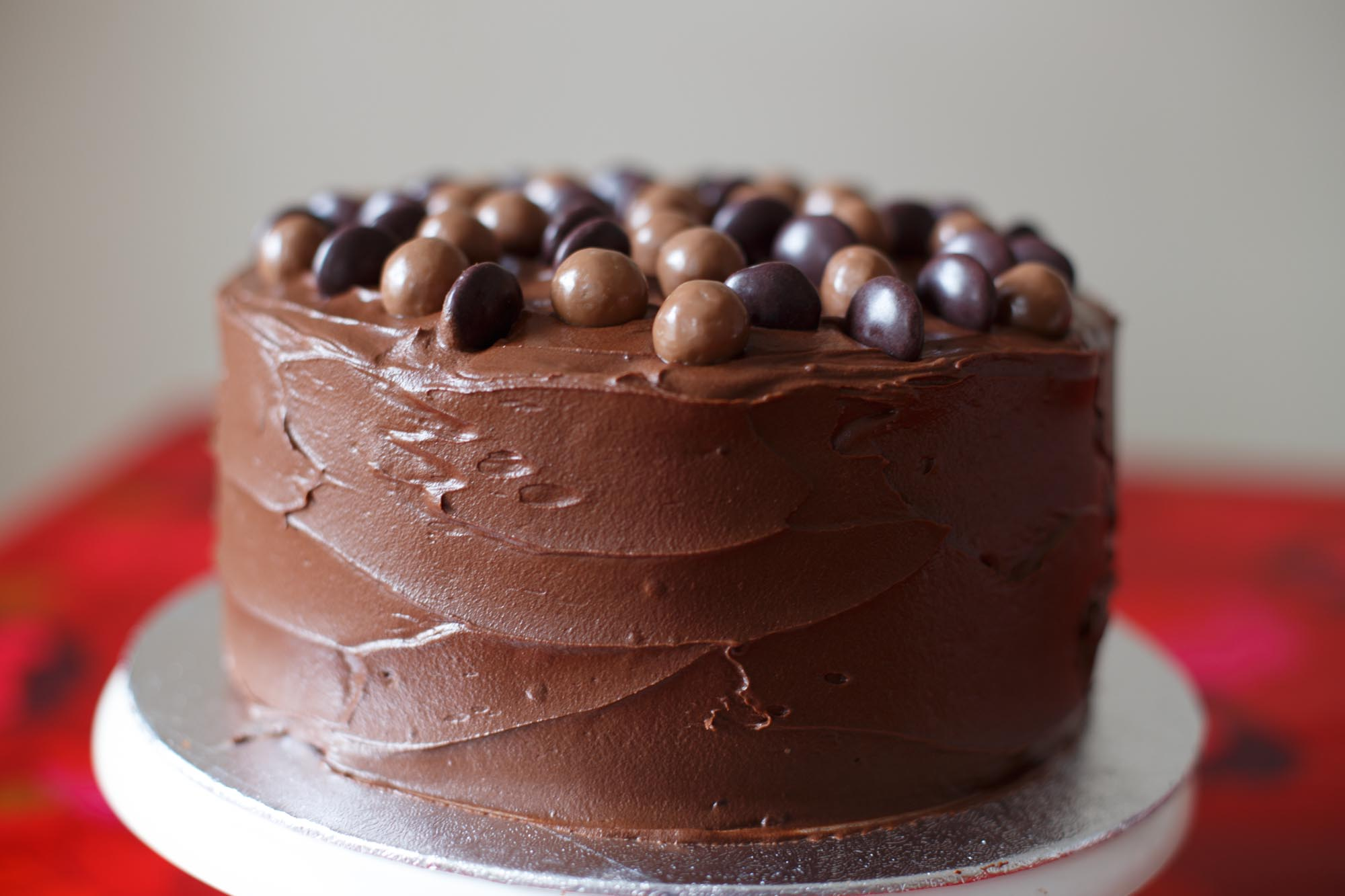 Minstrel Chocolate Cake